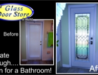 Bathroom-exterior-door-with-decorative-glass-insert