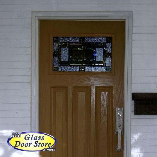 Craftsman 3 Panel Entrance Door The Glass Door Store