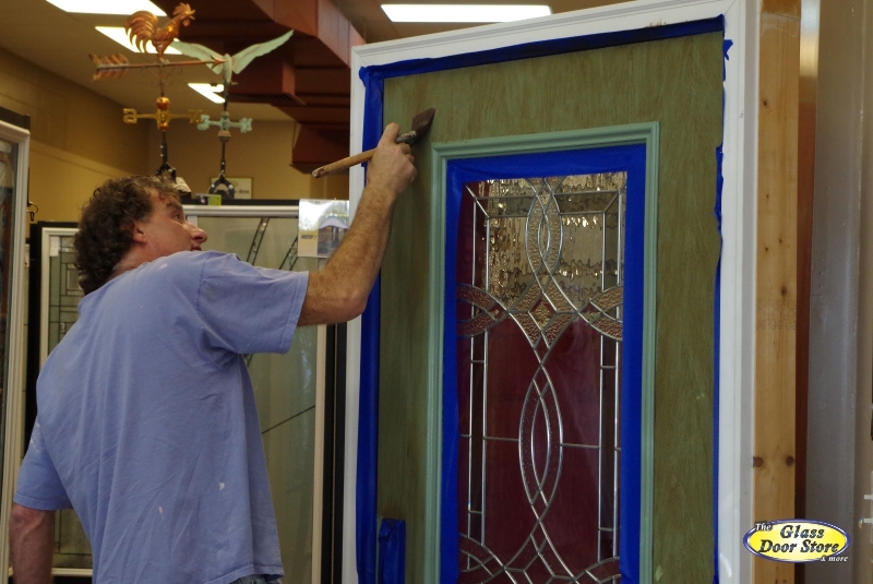 Ordinary How To Paint Fiberglass Door Photo Gallery