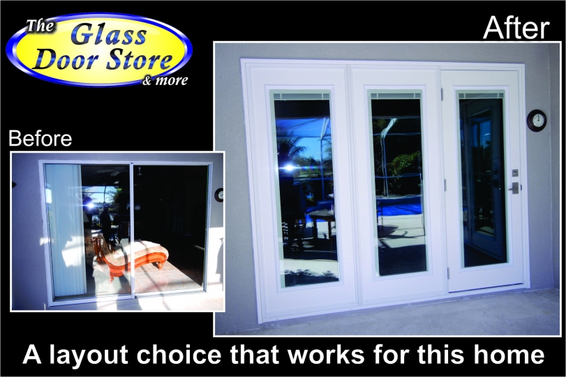 Replace Sliding French Doors with Glass 811 x 541
