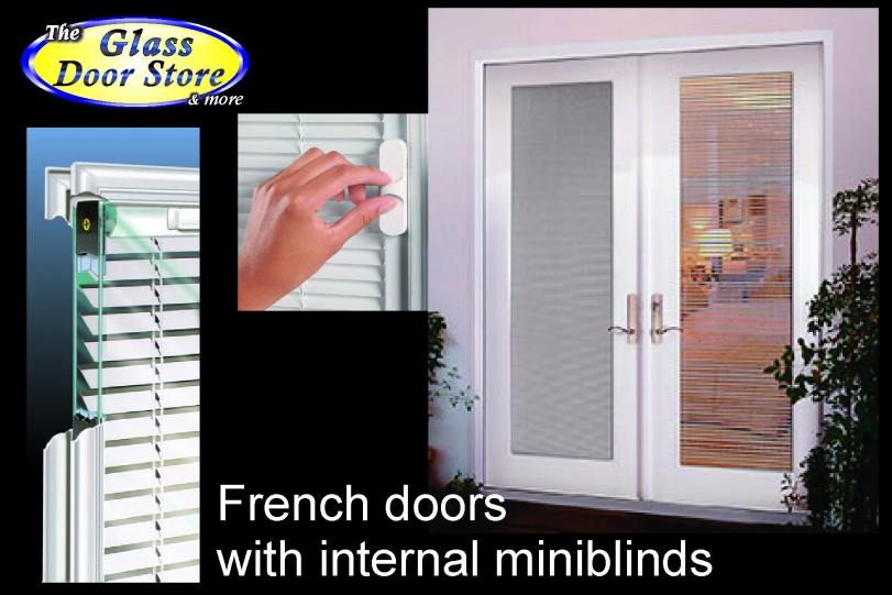 Beau French Doors With Internal Miniblinds