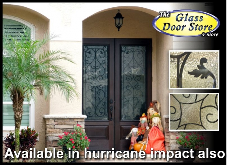 WI Hurricane Impact Glass Doors In Double 8 Ft Doors In Tampa