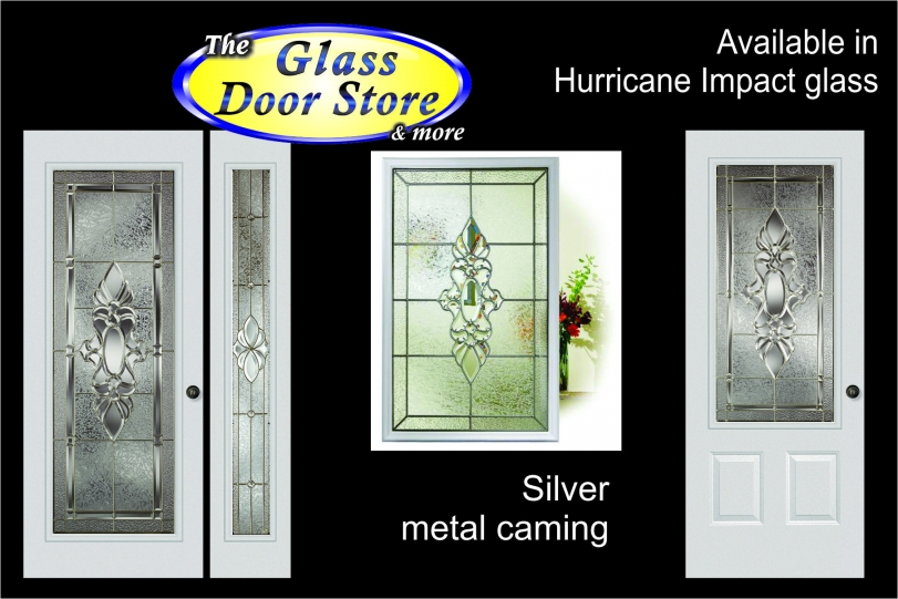 traditional-Hurricane-impact-glass-door-inserts  sc 1 st  The Glass Door Store & Hurricane Impact Glass Doors for Tampa Florida hurricane protection pezcame.com