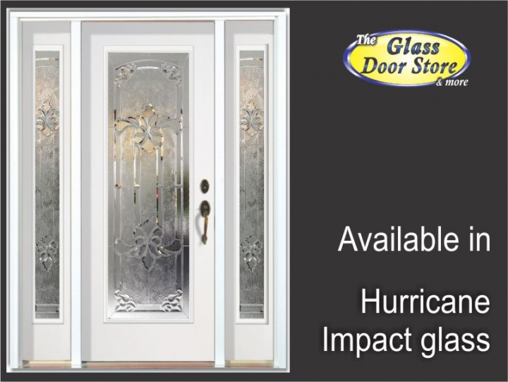 impact-door-glass-laminated-hurricane-glass  sc 1 st  The Glass Door Store & Hurricane Impact Glass Doors for Tampa Florida hurricane protection