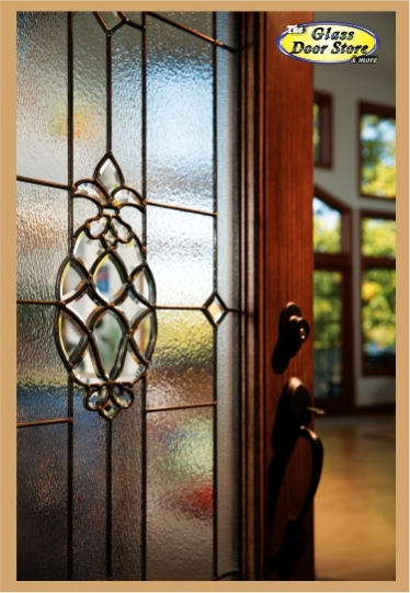 Pina Glass Door Insert Welcomes With A Pineapple The