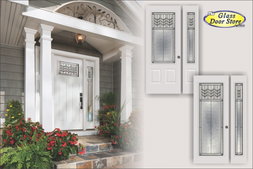 Single Entry Doors With Glass prairie craftsman entry door