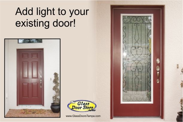 wrought iron insert in single front door.jpg