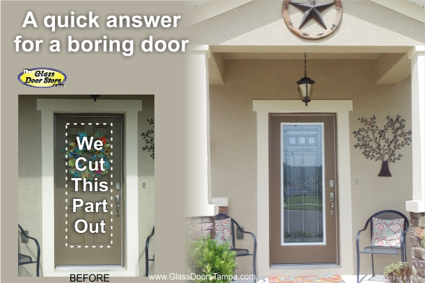 A quick answer for a boring door