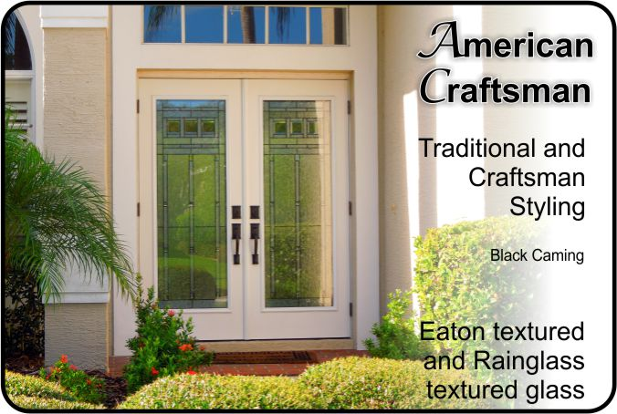 exterior fiberglass doors with glass