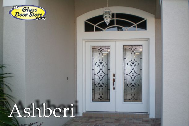 Ashberi wrought iron insert for 30 inch doors