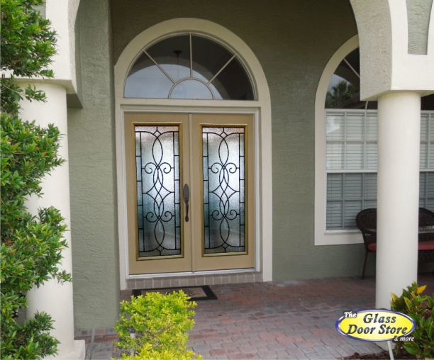 Ashbury double entry fiberglass doors