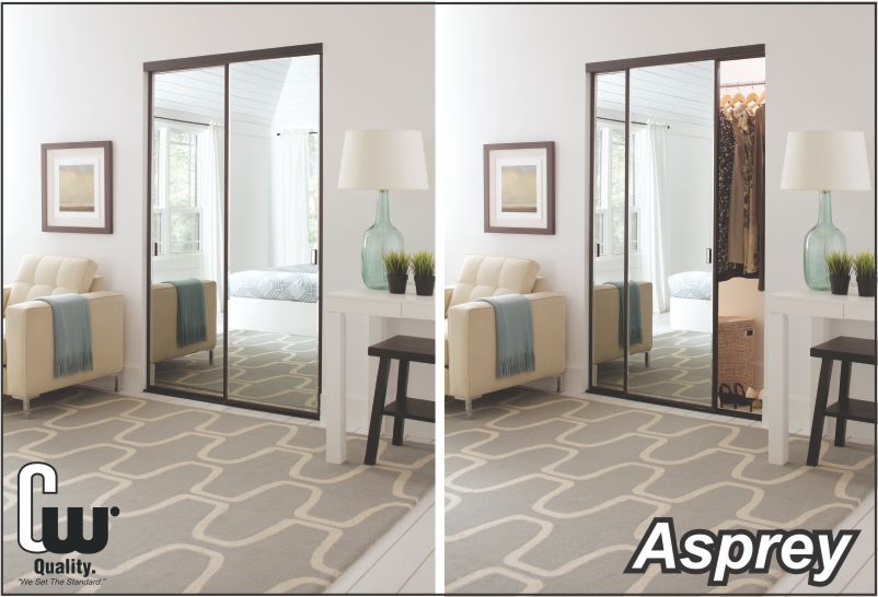 Superieur Sliding Closet Doors With Mirror