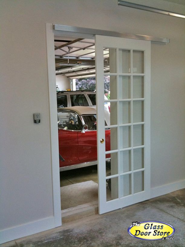 Exterior Glass Barn Doors barn doors |barn door track - the glass door store