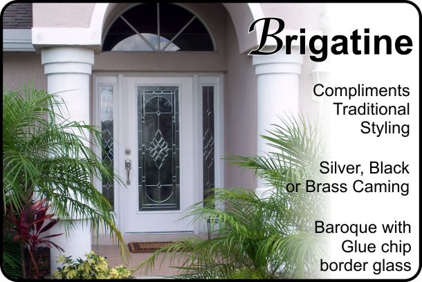 single front entry door with double glass sidelights