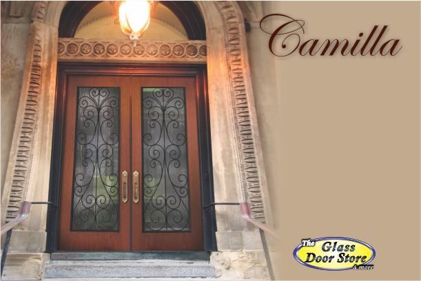 wrought iron insert for 30 inch fiberglass front doors