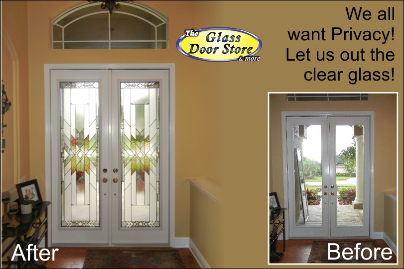 Want glass door inserts installed in your front door?