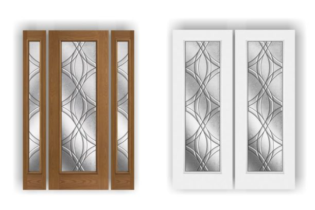 Chelsea in double doors and door with 2 sidelights