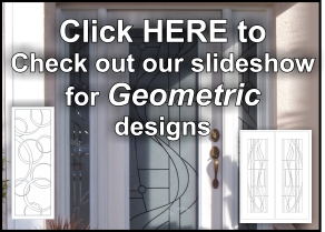 etched glass door designs with geometric designs