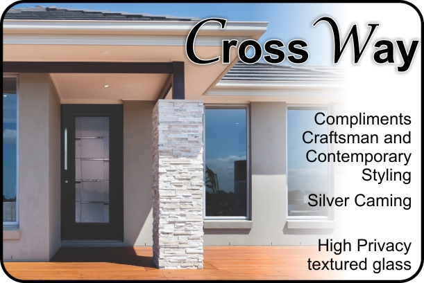 CrossWalk entry door insert