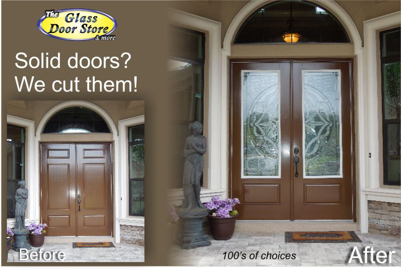 Doors Design: Want Glass Door Inserts Installed In Your Front Door?