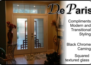 modern double front entry fiberglass doors