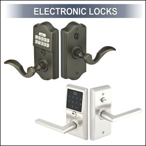 Charmant Electronic Locks Are Lighted Keyless Entry Locks With Touch Controls