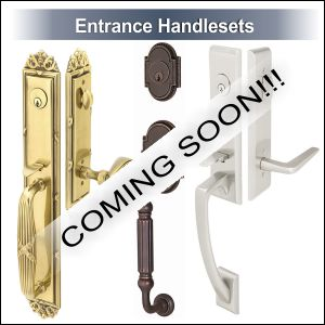 Entrance handlesets by Emtek door hardware