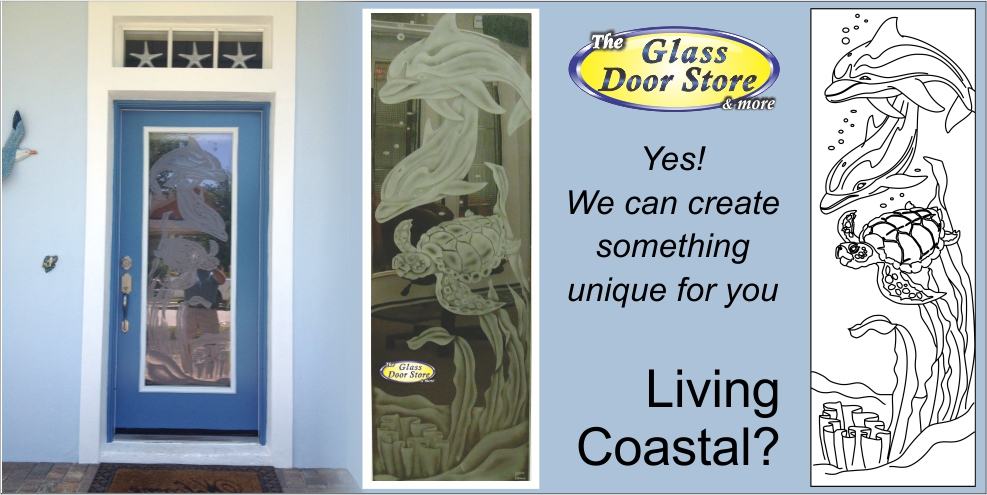 Etched Glass Doors Frosted Glass Doors Tropical Glass Doors