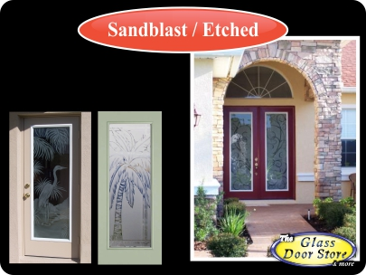 Etched-glass-front-entry-doors