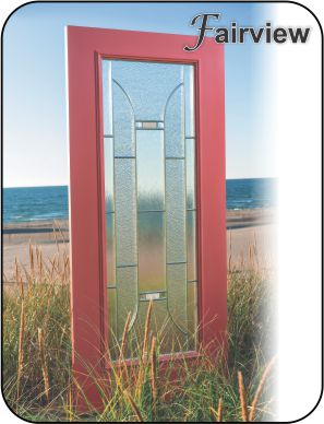 Modern glass door inserts for entry door