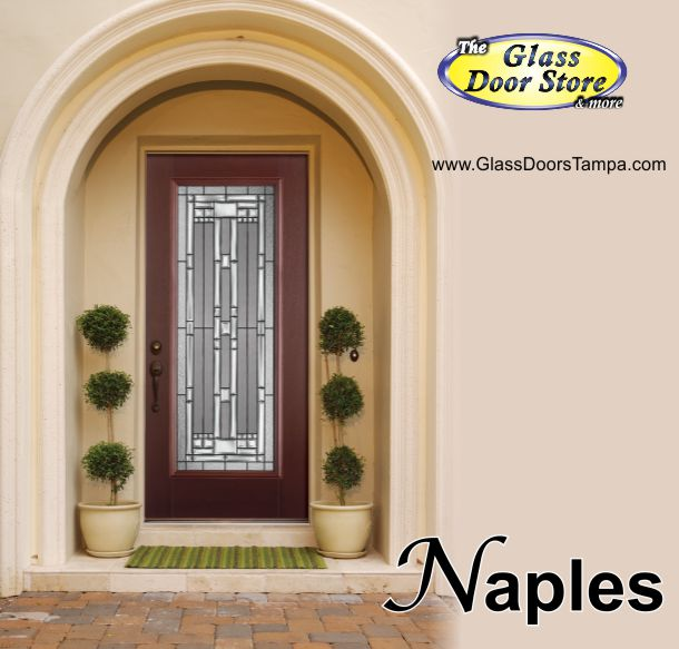 Glass Door Store : Naples glass door insert the store