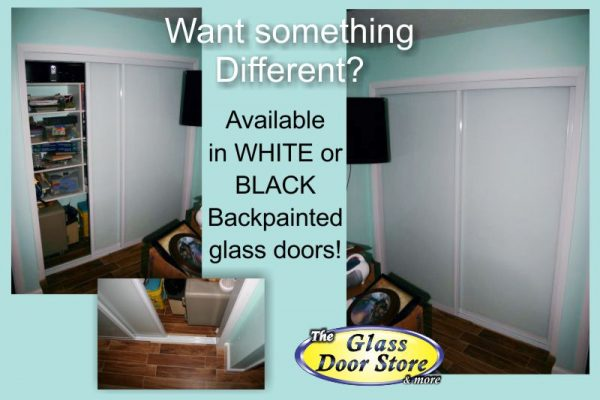 View Larger Image Glass Closet Doors