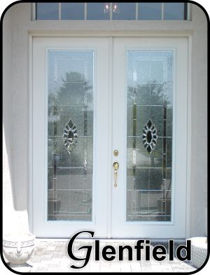 Double entry fiberglass doors