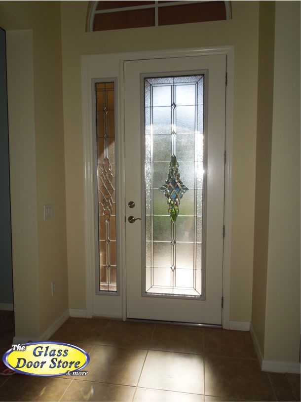 Graceland Glass Door Insert With Single Side Window Inside
