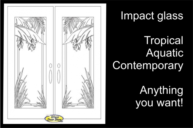 etched glass for front doors