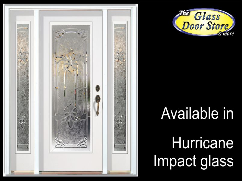 Fiberglass Entry Doors With Glass Inserts : Hurricane impact glass doors for tampa florida