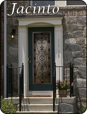 Jacinto Wrought Iron Front Door The Glass Door Store