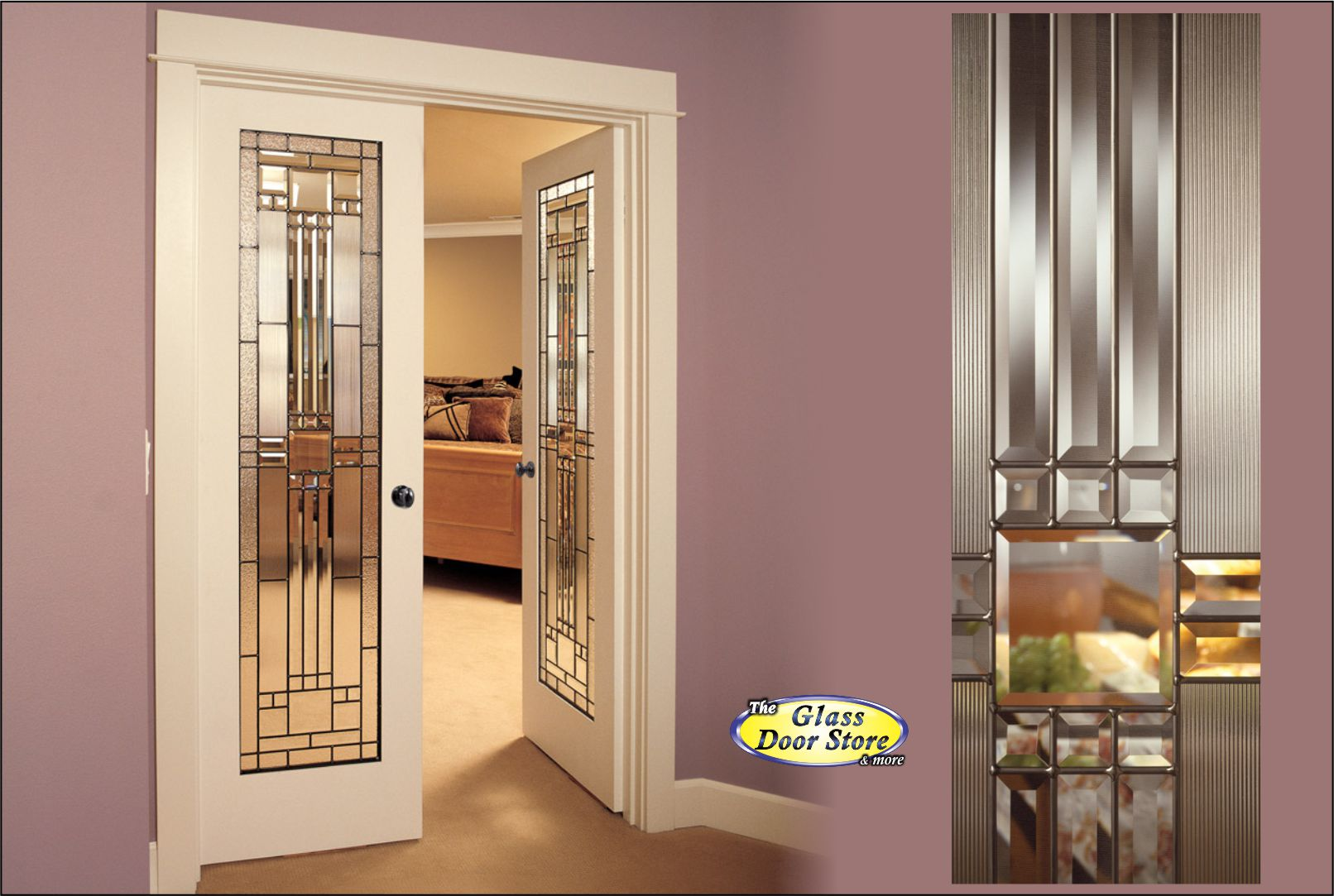 Interior doors glass doors barn doors office doors for Interior glass french doors