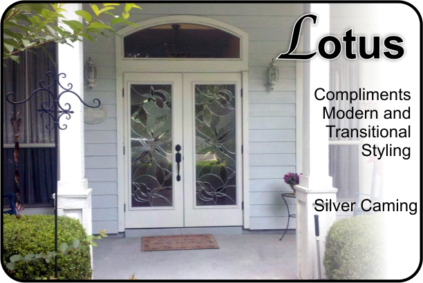 Lotus Exterior Door With Glass