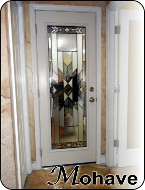 ODL glass door insert Mohave with colored glass