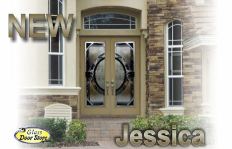 Modern front entry doors with glass door inserts