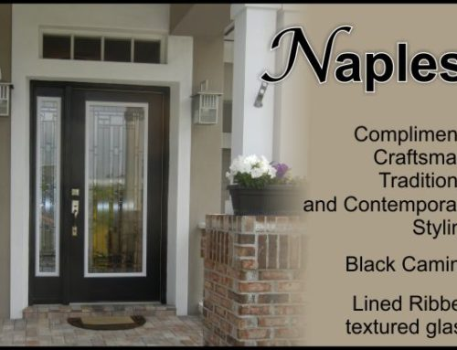 Naples Glass Door Insert
