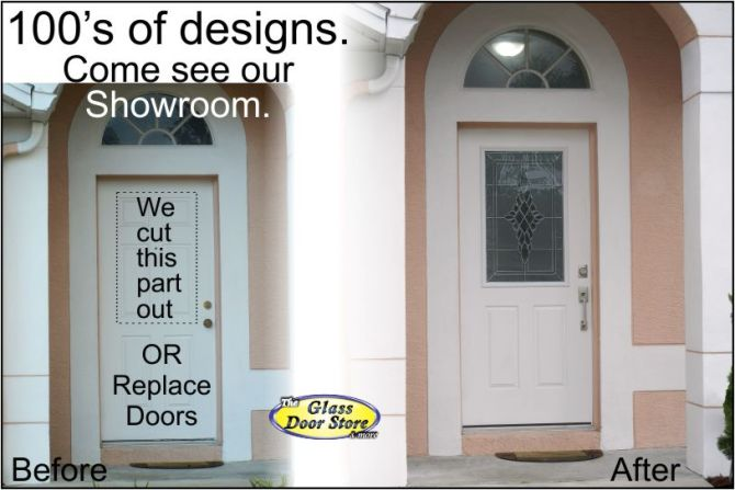 Affordable Exterior Front Entry Door Remodel