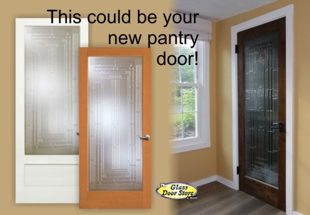 Pantry doors can be ready made or custom the glass door store pantry door with decorative glass planetlyrics