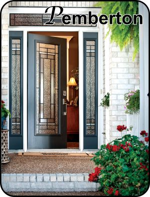 Charmant Fiberglass Door With Sidelights And Craftsman Door Glass