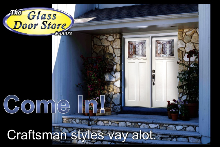 Craftsman Style Entry Front Doors The Glass Door Store