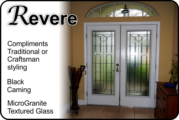 glass door with traditional style high privacy