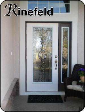 Rinefeld old world stained glass front entry door the glass door formal traditional glass door insert for single or double doors planetlyrics