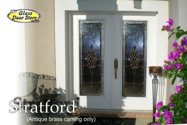 Stratford for 30 inch doors antique brass