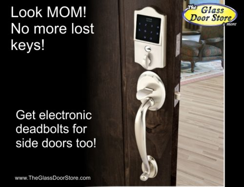 Emtek Keyless Electronic Deadbolts are the way to go!